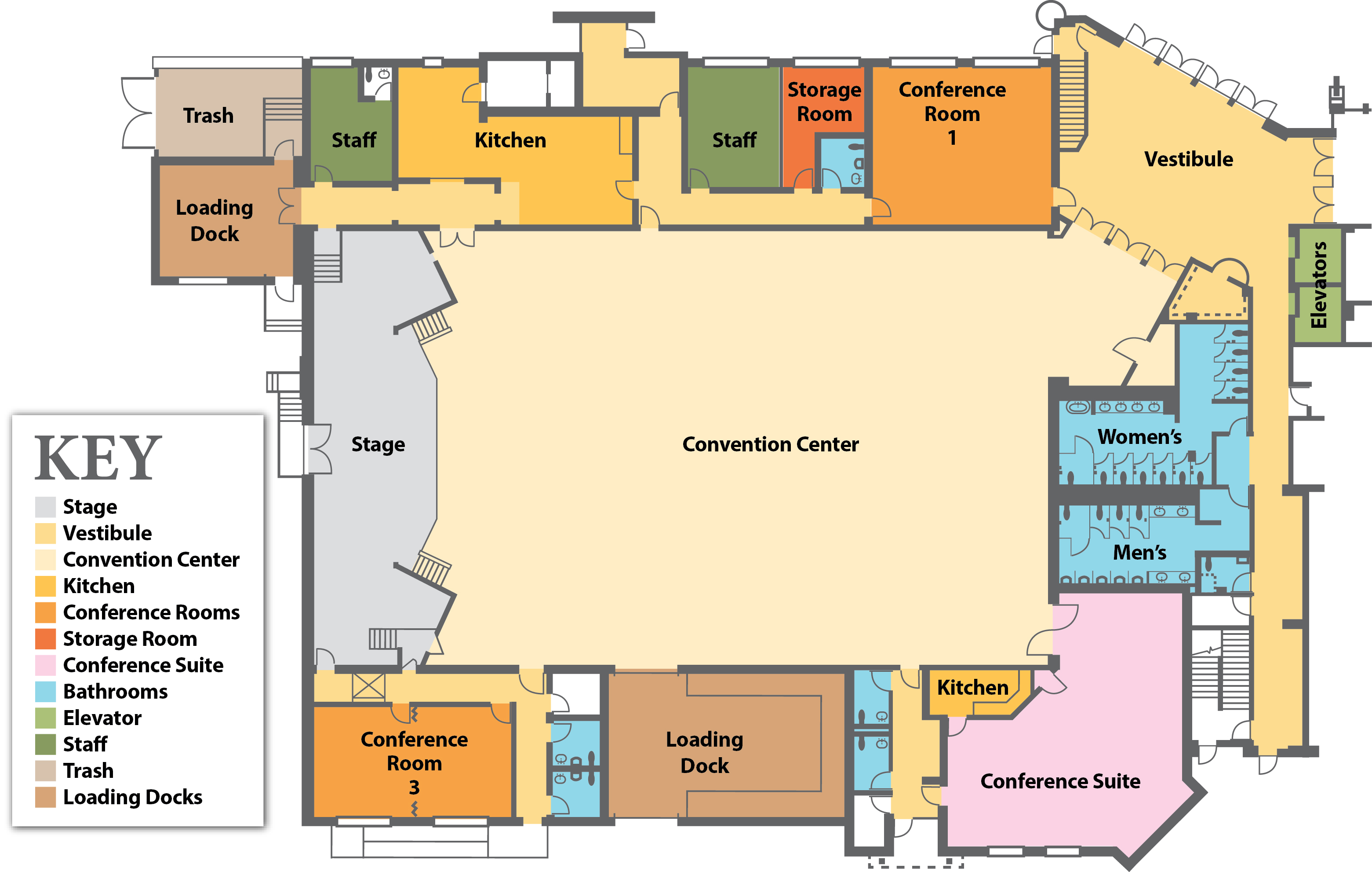 Convention Center Floor Plans City Of Rehoboth