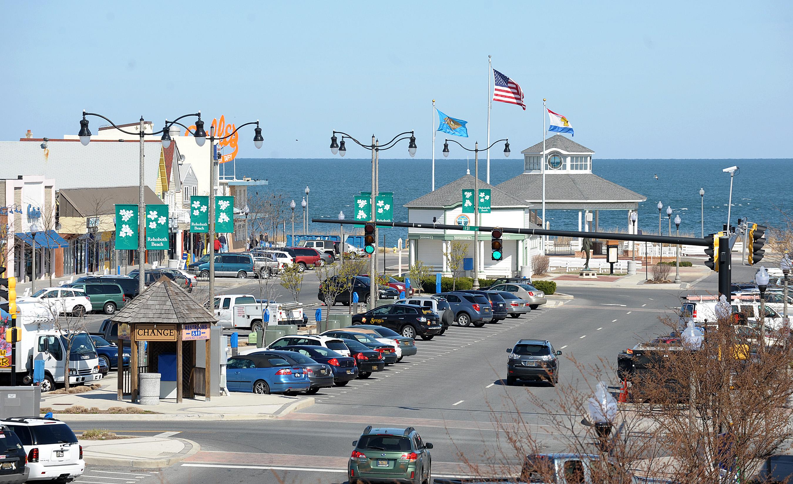 Ocean Avenue Rehoboth Beach De