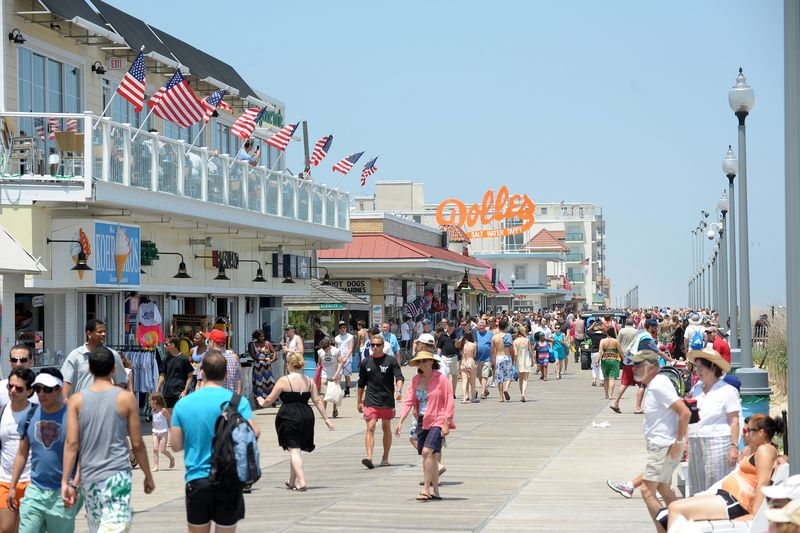 Beach And Boardwalk City Of Rehoboth